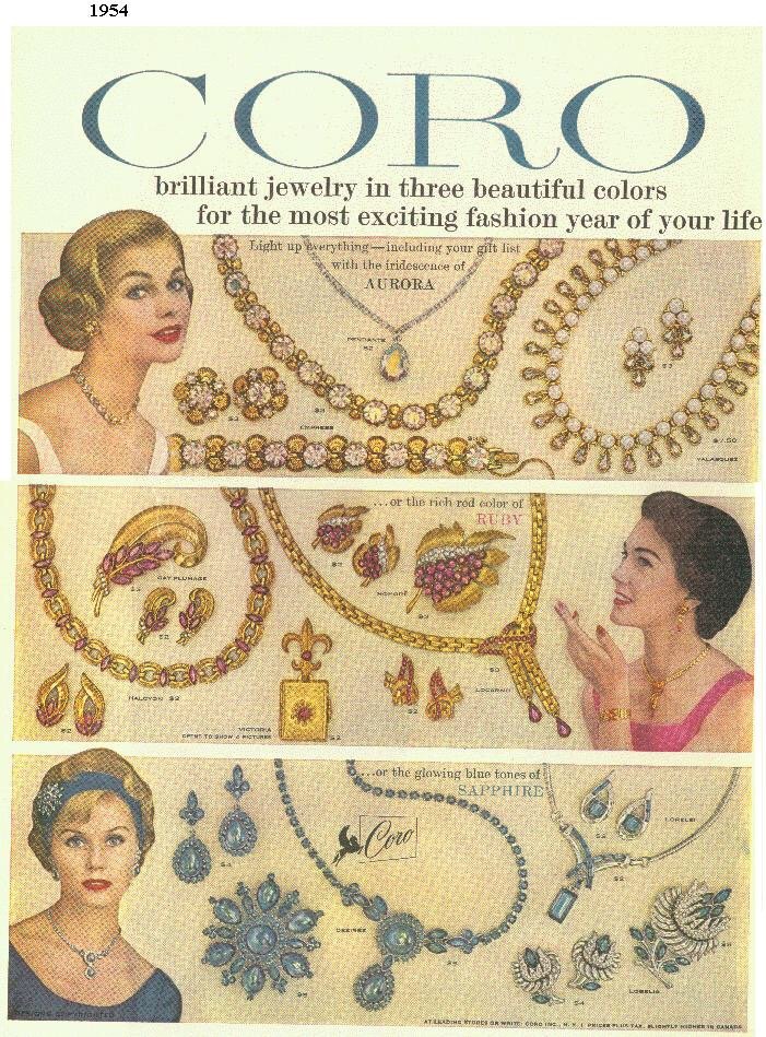 dating vintage coro jewelry The jewelry designer series – coro & corocraft the jewelry designer series is produced by vbmshops and vintage gems emporium this series is geared to the fine and costume jewelry collector.